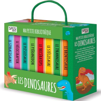 Lot de 8 livres Les dinosaures Sassi Junior