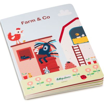Mon premier livre puzzle Farm & Co  par Lilliputiens