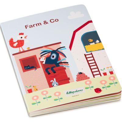 Mon premier livre puzzle Farm & Co Lilliputiens