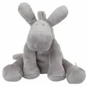 Peluche Paco âne gris clair Poudre d'étoiles (25 cm)  - Noukie's