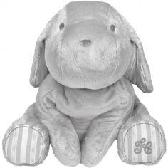 Peluche Lucien le chien gris (35 cm)