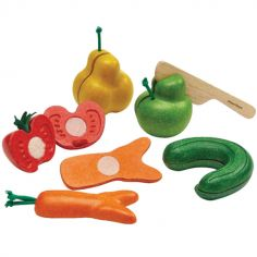 Fruits et légumes moches en hévéa