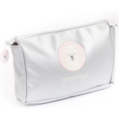 Trousse de toilette rose Lamamour  par Nougatine