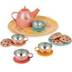 Dînette service à thé en métal