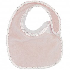 Bavoir à velcro Bib'up rose
