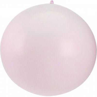 Ballon géant Berlingot rose irisé  par Arty Fêtes Factory
