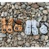 Moufles enfant lapin Bunnybelle grises (12-36 mois)  par Elodie Details