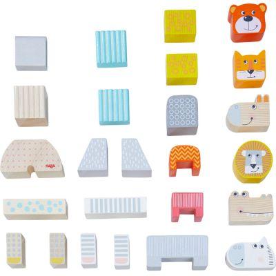 Blocs de construction La parade des animaux (25 pièces)  par Haba