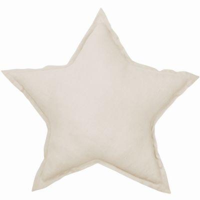 Coussin étoile écru Pure nature (45 cm)  par Cotton&Sweets