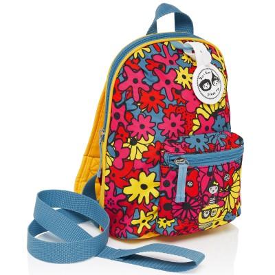 Sac à dos bébé Floral Brights multicolore  par Zip & Zoé