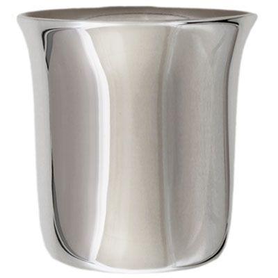 Timbale évasée unie personnalisable (métal argenté)  par Aubry-Cadoret