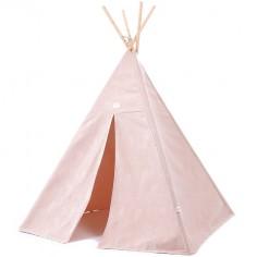 Tente tipi Phoenix White bubble Misty pink