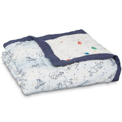 Couverture de rêve Dream Blanket Silky Soft Stargaze (120 x 120 cm) aden + anais