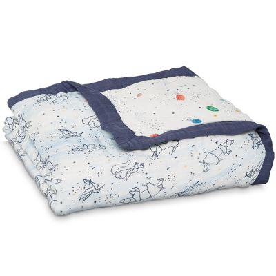 Couverture de rêve Dream Blanket Silky Soft Stargaze (120 x 120 cm)  par aden + anais