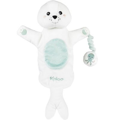 Peluche marionnette phoque Bill Kachoo Kaloo