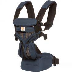 Porte bébé Omni 360 Cool Air Mesh bleu corbeau