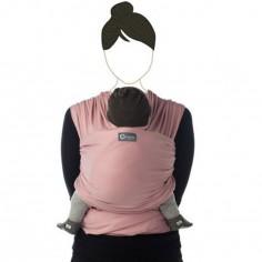 Echarpe de portage Tricot-Slen coton bio soft pink