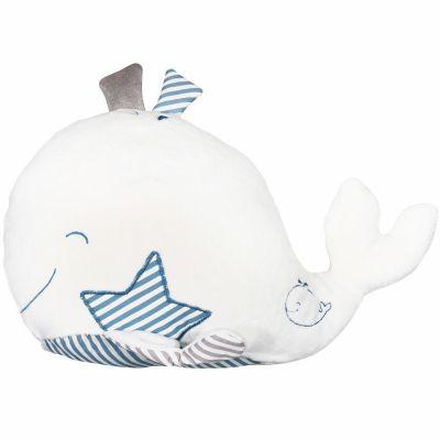 Peluche Blue baleine (34 cm)  par Sauthon