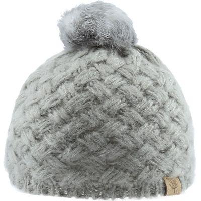 Bonnet en tricot à pompon gris (12-18 mois)  par Bedford Road