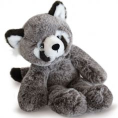 Coffret peluche panda roux Sweety Mousse (25 cm)
