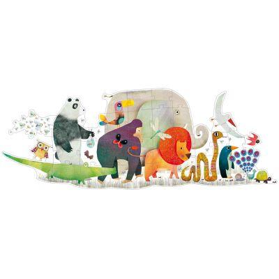 Puzzle géant La parade des Animaux (36 pièces)  par Djeco