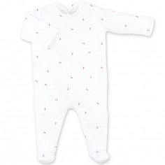 Pyjama léger cerise Jelly (0-3 mois : 40 cm)