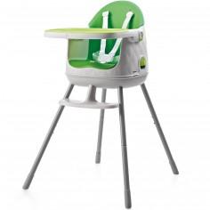 Chaise Haute transformable en réhausseur Multi Dine vert