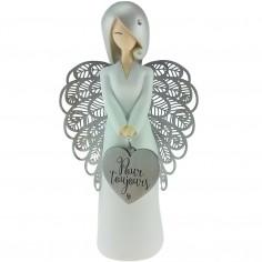 Statuette ange Pour toujours (17,5 cm)