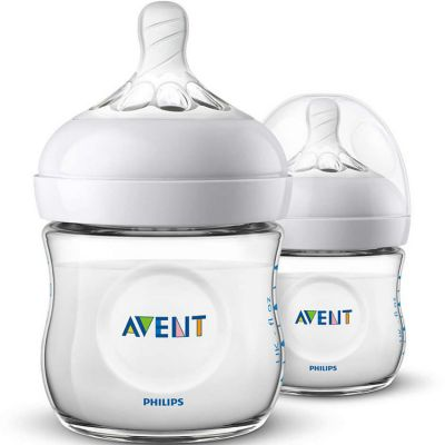 Lot de 2 biberons Natural (125 ml)  par Philips AVENT