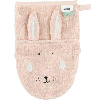 Gant de toilette lapin Mrs. Rabbit  par Trixie