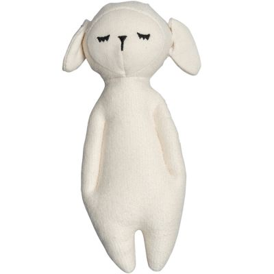 Hochet peluche Mouton (17 cm) Fabelab