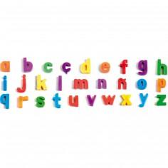 Lettres minuscules magnétiques (66 pièces)