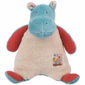 Peluche hippopotame Les Papoum (19 cm) - Moulin Roty
