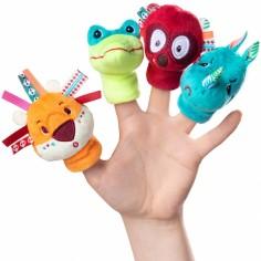 Marionnettes à doigts Jungle