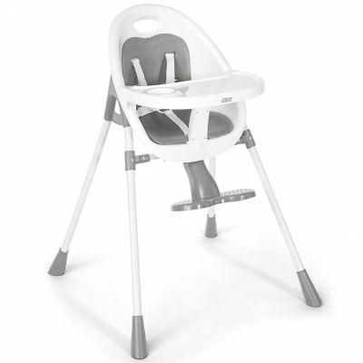 Chaise haute Bop Hi Lo grise  par Mamas and Papas
