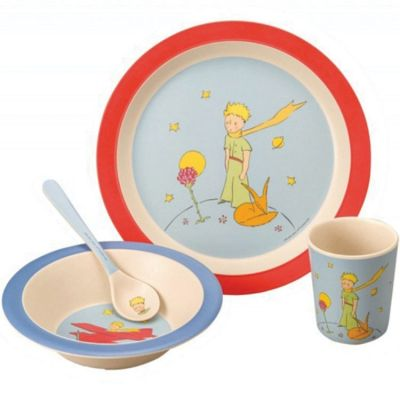 Coffret repas en bambou Le Petit Prince (4 pièces) Petit Jour Paris
