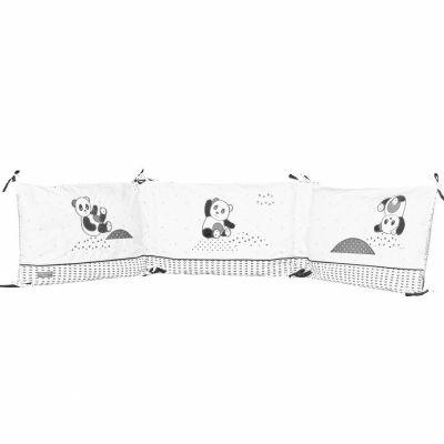 Tour de lit panda Chao Chao (pour lits 60 x 120 et 70 x 140 cm)  par Sauthon