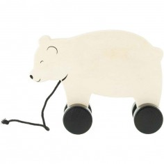 Jouet à tirer ours Bear