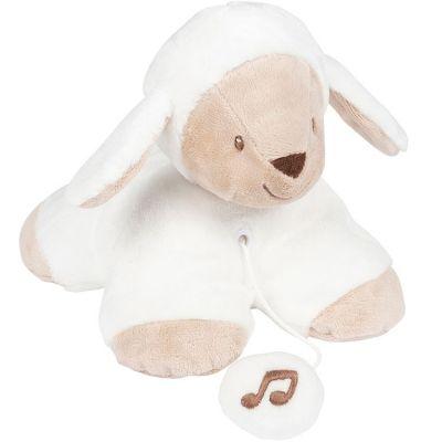 Peluche musicale Tim le mouton (19 cm)  par Nattou