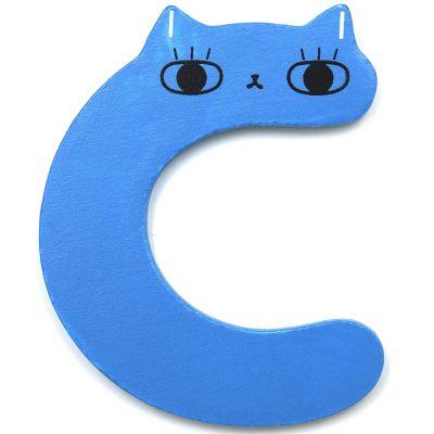 Lettre décorative C comme chat Petit Monkey
