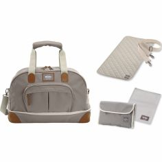 Sac à langer Amsterdam extensible II Smart Colors taupe