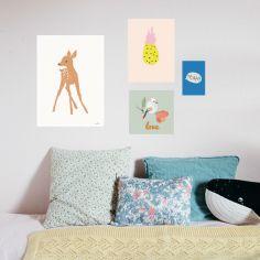 Lot de 4 petites affiches Love (10 x 15 à 40 x 30 cm)