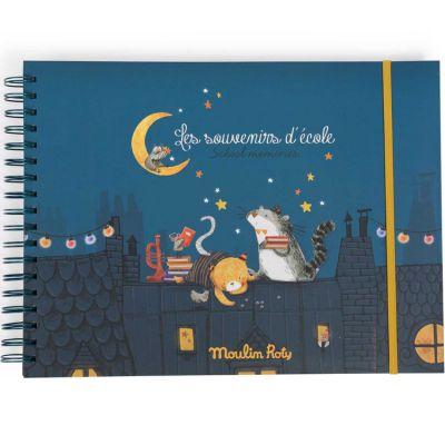 Album souvenirs école Les Moustaches  par Moulin Roty