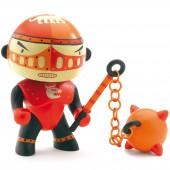 Figurine chevalier armé Redpower (11 cm) - Djeco