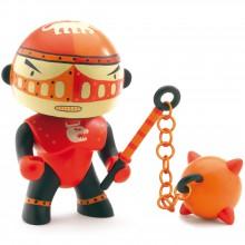 Figurine chevalier armé Redpower (11 cm)  par Djeco