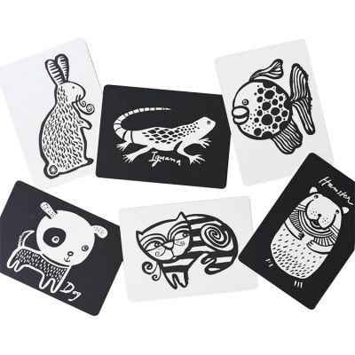 Cartes imagier pour bébé animaux domestiques  par Wee Gallery