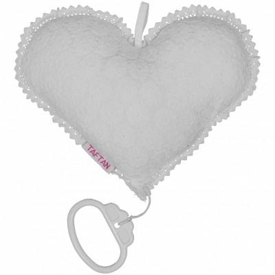 Coeur musical au crochet (20 cm) Taftan