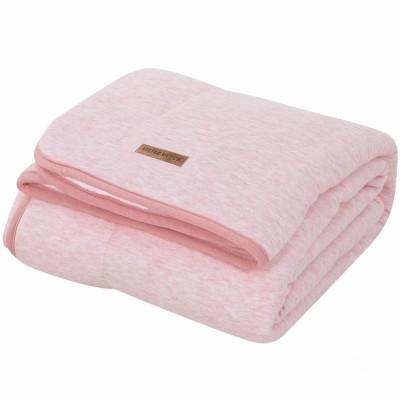 couverture de lit pure soft peach melange 110 x 140 cm. Black Bedroom Furniture Sets. Home Design Ideas