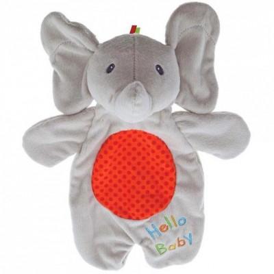 Doudou marionnette Flappy l'éléphant (29 cm) GUND