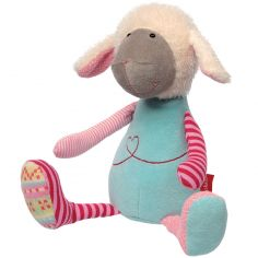 Peluche mouton Patchwork Sweety (33 cm)